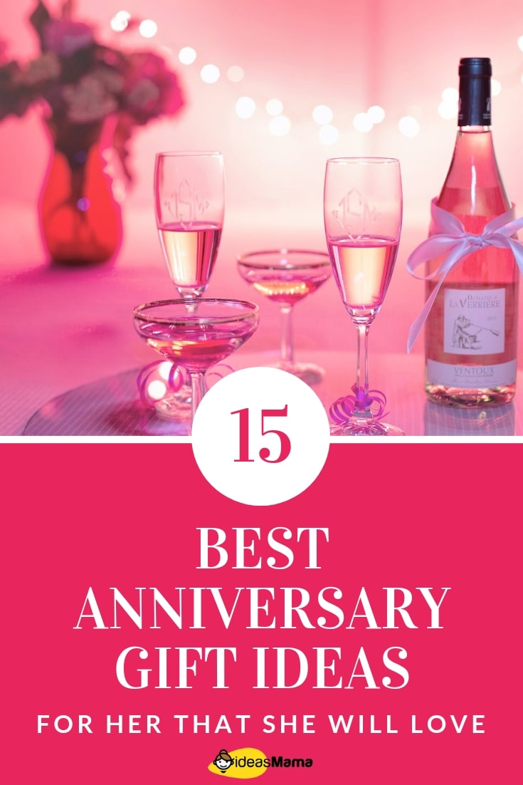 15 Best Anniversary Gift Ideas for Her That She Will Love