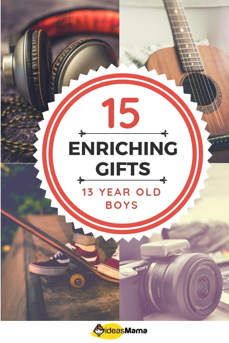 15 Enriching Gifts for 13 Year Old Boys That Are Useful - Ideas Mama